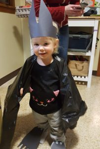 girl in bat costume
