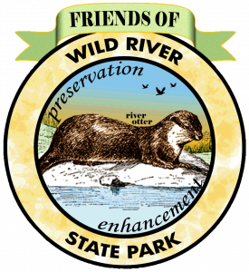 logo with river otter