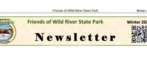Friends of Wild River newsletter header with their logo