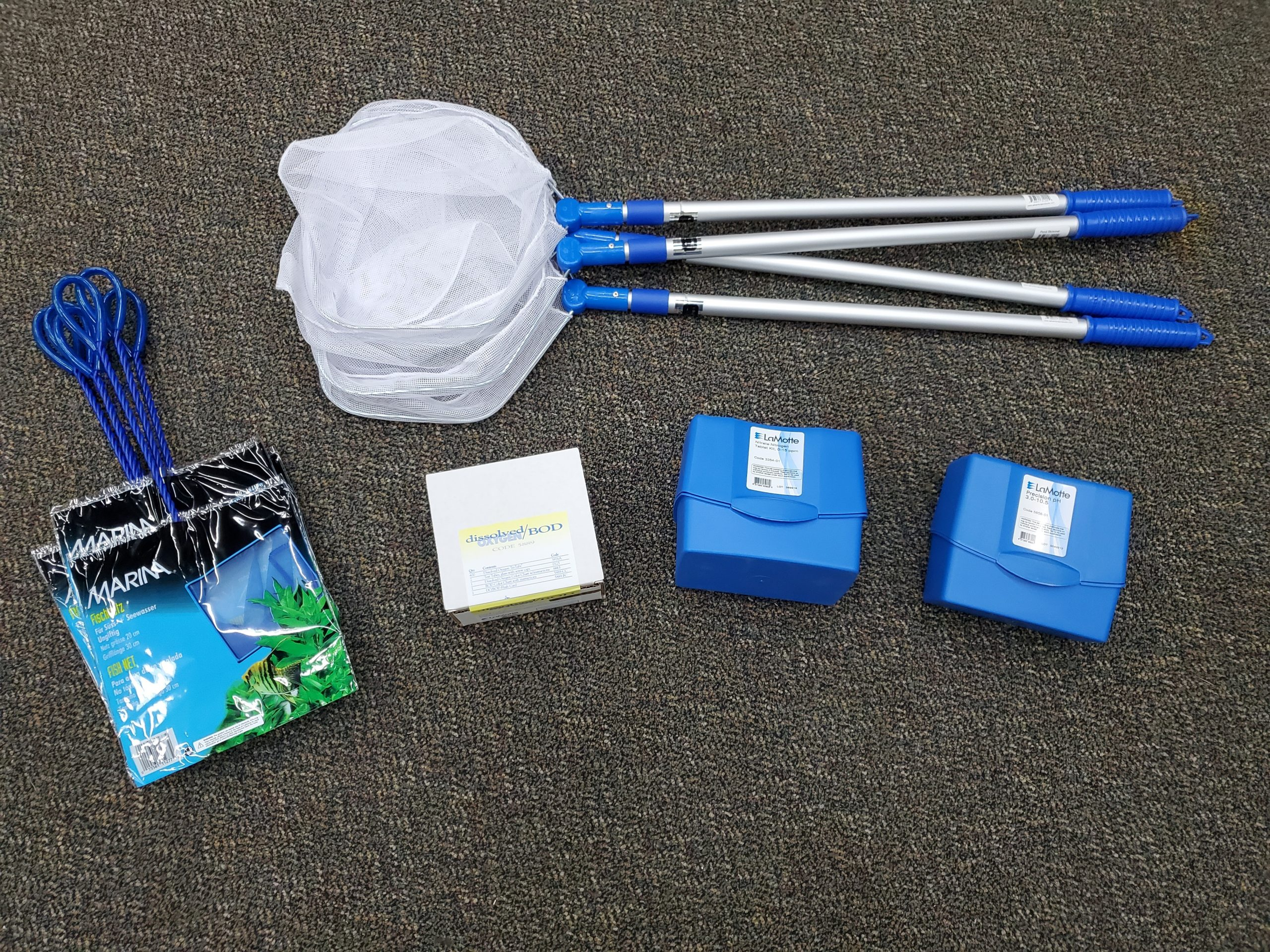 Nets and test kits