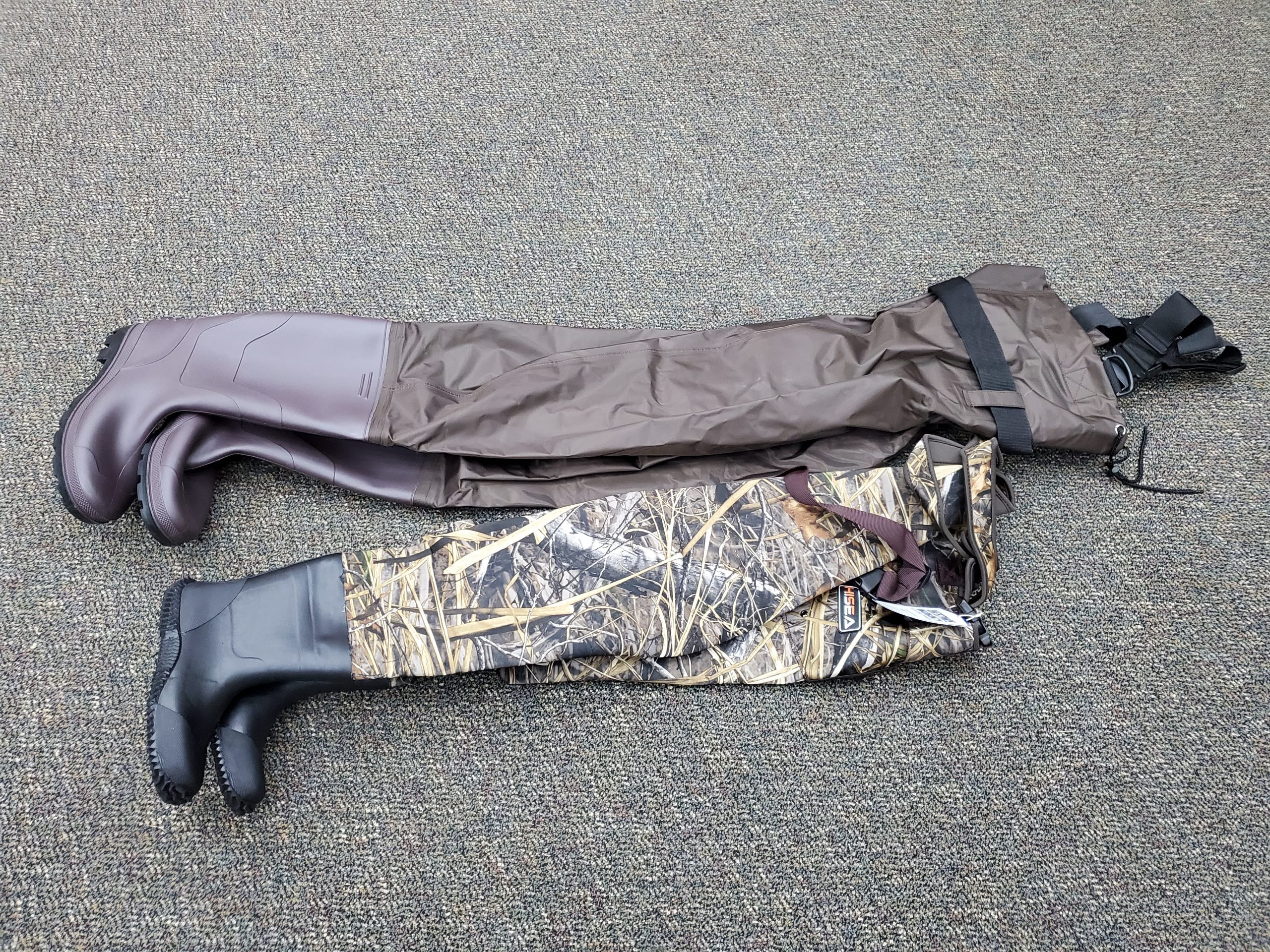 youth and adult waders