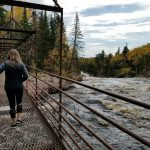 Tettegouche High Falls Crossing by Katlyn Benson