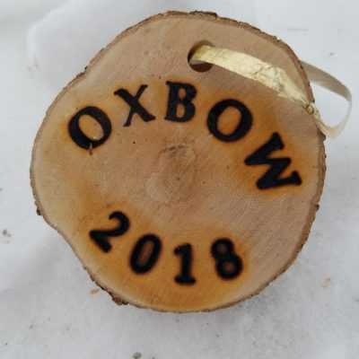 Oxbow 2018 tree cookie