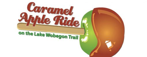 branded ride picture with a caramel apple
