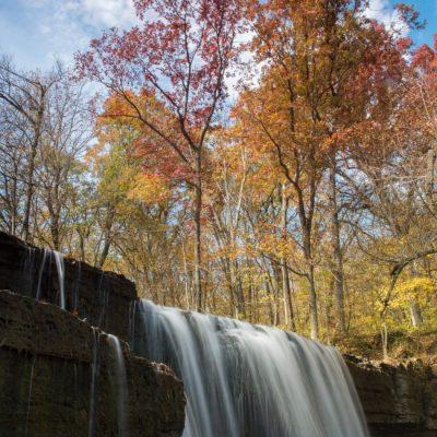 waterfall at Nerstrand