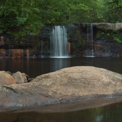 waterfall at Banning State Park